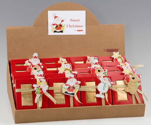 Prodotti Natalizi al cioccolato Mopec