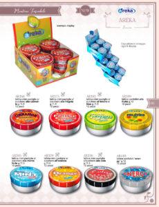 Catalogo caramelle Areka