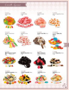 Catalogo caramelle e bon bon